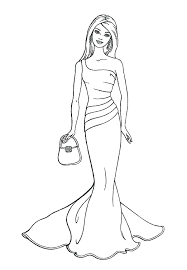 Wedding Dress Coloring Pages X Wedding Dress Coloring Pages