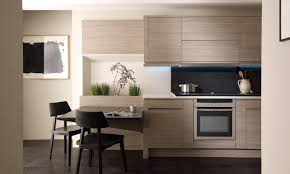 Second Nature Kitchen Doors Remo Elm Contemporary Kitchen