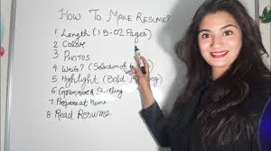 How To Make Best Resume For Job Perfect Tips To Make A Cv Or Resume