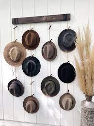 hat organizer hat wall hanging fedora
