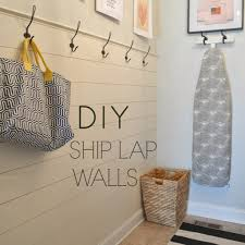 right up my alley diy ship lap wall how to install shiplap walls elegant