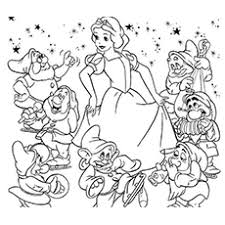 These disney coloring sheets will allow your kids to express their creativity and they're a great quiet time idea. Top 20 Free Printable Snow White Coloring Pages Online