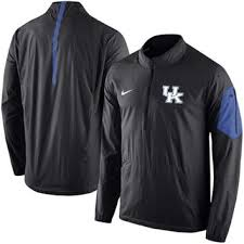 Black Nike Half-zip Men's Coaches Wind Wildcats Football Jacket Sideline Kentucky 2015|Jay Z Wore A Colin Kaepernick Jersey On Stage With Damian 'Jr. Gong' Marley