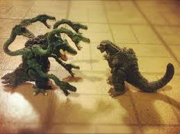 Godzilla vs biollante toys