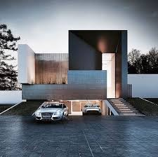Ultra Modern Houses Ultra Modern Home Exteria Wood Accents Underground Garage