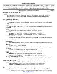 lens essay writing checklist rubric critical lens essay writing checklist rubric