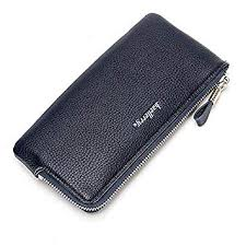 SPA 5.5 Inches Phone Men Pu Leather <b>Multifunctional Long</b> Wallet ...