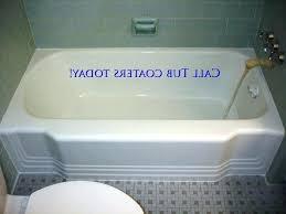 refinish cast iron bathtub photo 1 of winsome bathtub refinishing