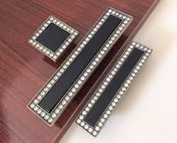 square glass cabinet knobs. Black Bronze Crystal Dresser Knobs Drawer Handles / Square Glass Cabinet Handle Knob Kitchen Cupboard B