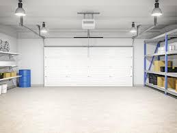 image of garage lighting placement