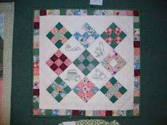 Simple rail fence pattern. | Quilts, Wall Hangings and other ... & This was my end wall hanging for a