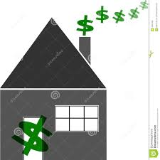 Household Finances Budget Home Stock Illustration