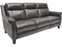 9953 rsm power reclining sofa in benton smoke leather