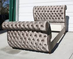 tufted upholstered sleigh bed. Unique Upholstered Fabulous Upholstered Sleigh Bed Queen With With Tufted O