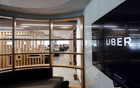 uber office design. The Interior Of Office Ride-hailing Service Uber Is Seen In This Picture Design 1
