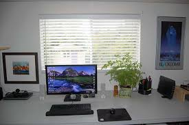 my home office. Picture Of How I Setup My Desk For Home Office. Office
