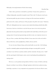 philosophical essay nursing mission statement template zzfizpaa png