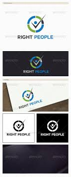 Right People Logo #GraphicRiver Right People Template Vector logo   Resizable for easy editing