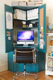 home office hideaway. Beautiful Hideaway No Space For A Separate Home OfficeThe Solution Is Office Armoire  Check Out These 10 Clever Ideas That Fit Conveniently In An Armoire Throughout Home Office Hideaway E