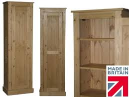 Tall Pantry Cabinet For Kitchen Solid Pine Cupboard 6ft 6 Tall 2 Door Multi Purpose Pantry