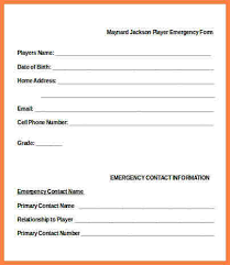 15 Employee Emergency Contact Form Paystub Format
