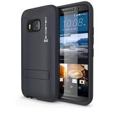 htc 4. m9 case, ghostek bullet dark navy htc one case w/ screen htc 4