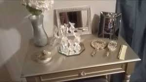 diy metallic furniture. diy silver vanity diy metallic furniture t