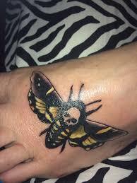 My Death Head Moth Tattoo Horror Amino