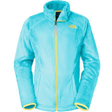 the north face osolita fleece jacket girls fortuna blue jackets vests the north face