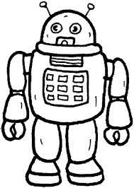 Robot From Future Toys Coloring Pages Best Place To Color