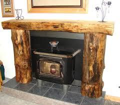 smlf rustic wood fireplace mantels