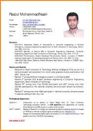 Example Of Curriculum Vitae Mesmerizing Cv English Example Pdf Usefu As Best Of Curriculum Vitae English