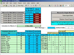 excel for scheduling excel spreadsheet construction schedule template