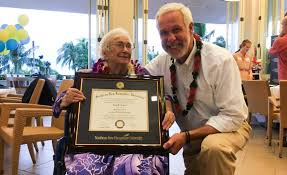 cancer patient and children s author who penned viral marry my 94 year old w 4 0 gpa gets surprise graduation ceremony in hawaii