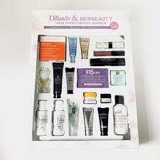 new beauty dillards beauty box review