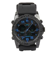 Rip Curl Cortez Tidemaster2 Silicone Band Watch At Swimoutlet Com Free Shipping