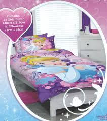 disney princess bedding girls princess dreams single duvet doona quilt cover set