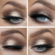 prom makeup for blue eyes and dress affordable wodip