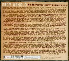 Cd Chart Singles To Buy Eddy Arnold The Complete Us Chart Singles 1945 62 3 Cd