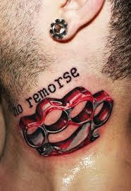 Tetování Na Krku My Free World
