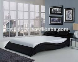 Latest Headboard Cushion Design Double Size Pu Soft Cushion Bed 1880 - Buy Soft Cushion Bed,Bed Design Furniture,Latest Double Bed Designs Product on ...