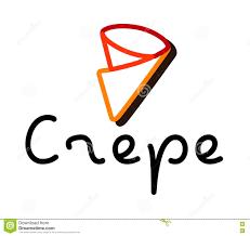 Crepes Logo Design Crepe Logo Design Stock Vector Illustration Of Background