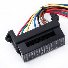 8 way dc32v fuse holder circuit car trailer auto blade fuse box 6 way consumer unit at 2 Way Fuse Box