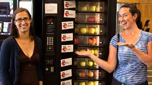 Apple Vending Machine Delectable The Apple Machine Is Back