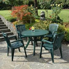 Nardi toscana diana 4 seat round resin garden furniture wood bench