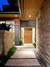 modern entry house cool concrete walkway design ideas elegant modern entry doors modern split level house