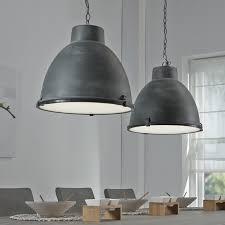Industriële Hanglamp Brigida Met Dubbele Kap Kleur Grijs