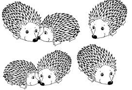 Porcupine Coloring Pages The Fable Of Porcupines Stories For Muslim