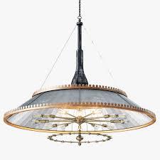 mirrored lighting. Grand 1800s Wheeler Mirrored Lamp 3d Model Max Obj 3ds Fbx Mtl 1 Lighting