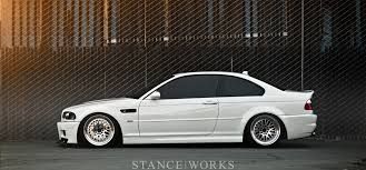 bmw m3 e46 stanced. Unique Bmw Sophistication In Simplicity Navithu0027s E46 M3 On CCW Classics For Bmw Stanced P
